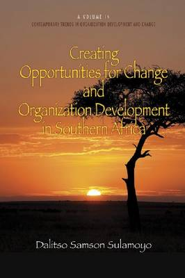 Creating Opportunities for Change and Organization Development in Southern Africa