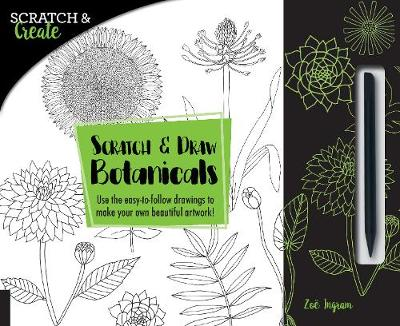Scratch & Create: Scratch and Draw Botanicals: Use the easy-to-follow drawings to make your own beautiful artwork!
