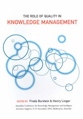 The Role of Quality in Knowledge Management