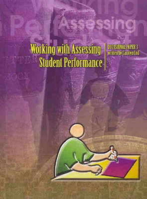 Working with Assessing Student Performance
