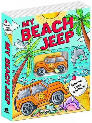 My Beach Jeep Fold-out Track Book