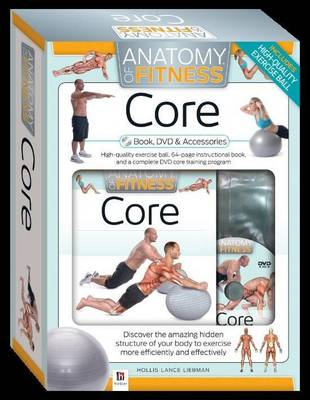 Core Anatomy of Fitness Book DVD and Accessories (PAL)