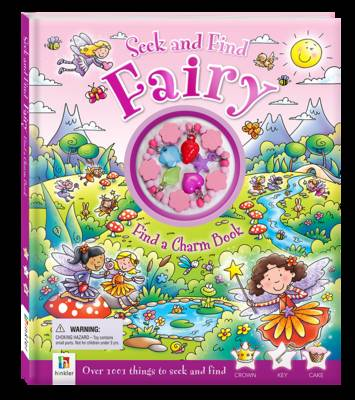 Seek and Find Fairy Find a Charm Book