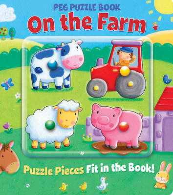 Peg Puzzle Book - On the Farm