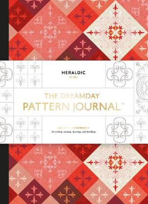 "Dreamday Pattern Journal: Heraldic - Paris: ""Colouring-in notebook for writing, musing, drawing and doodling"""