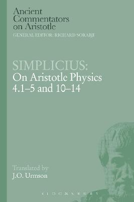 Simplicius: On Aristotle Physics 4.1-5 and 10-14