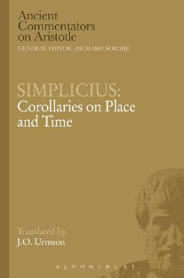 Simplicius: Corollaries on Place and Time