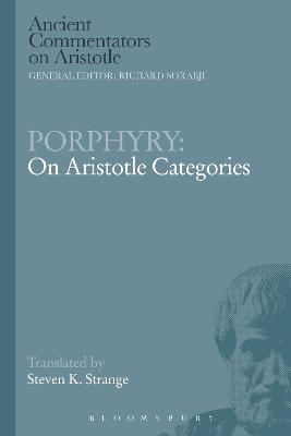 Porphyry: On Aristotle Categories