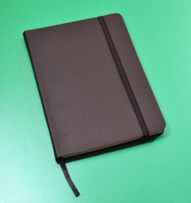 Monsieur Notebook Leather Journal - Black Sketch Medium A5