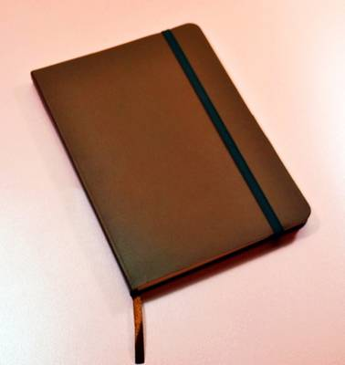 Monsieur Notebook Leather Journal - Brown Ruled Medium A5