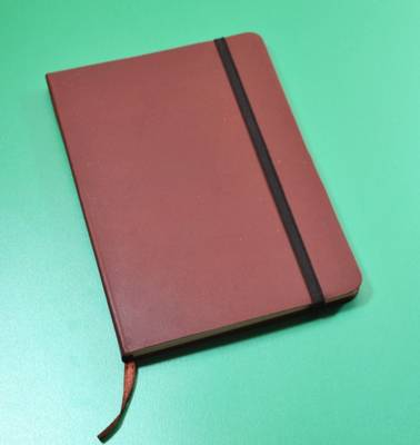 Monsieur Notebook Leather Journal - Brown Sketch Medium A5