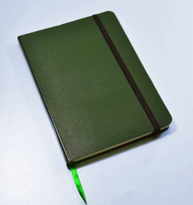 Monsieur Notebook Leather Journal - Green Plain Medium A5