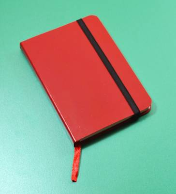 Monsieur Notebook Leather Journal - Red Sketch Small A6