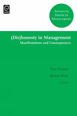 Dishonesty in Management: Manifestations and Consequences