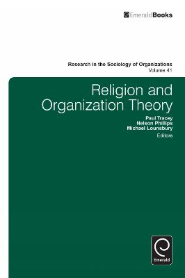 Religion and Organization Theory