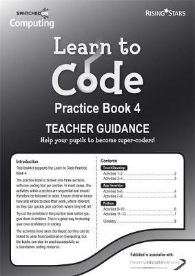 Learn to Code Teacher's Notes 4