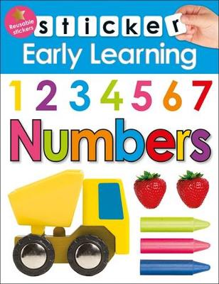 Numbers: Sticker Early learning