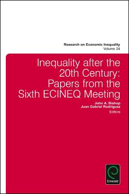 Inequality after the 20th Century: Papers from the Sixth ECINEQ Meeting