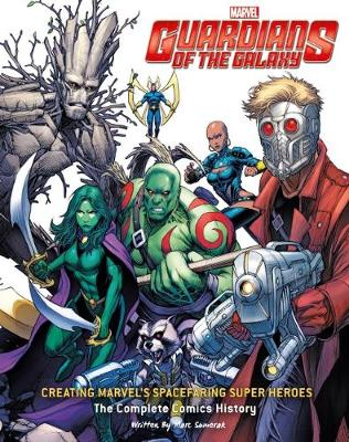 Guardians of the Galaxy: Drawing Marvel's Cosmic Crusaders