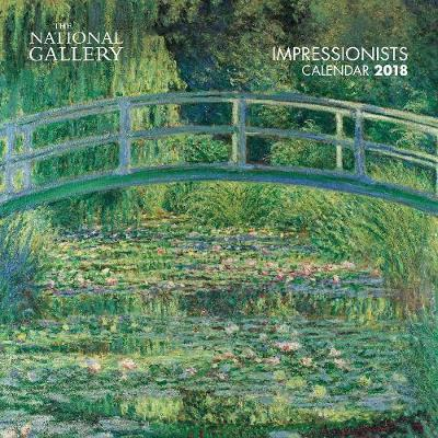 2018 National Gallery Impressionists Wall Calendar