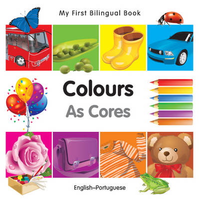 My first bilingual book - Colours / As cores