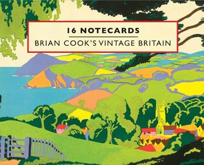 Brian Cook's Vintage Britain 16 Notecards
