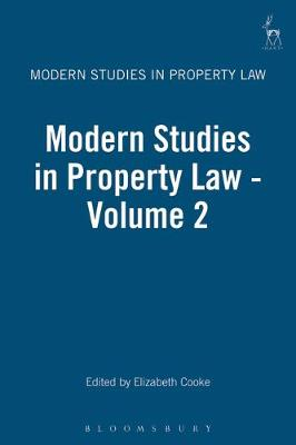Modern Studies in Property Law: 2