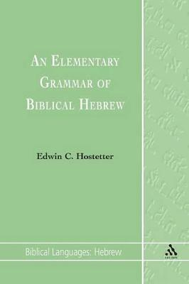 An Elementary Grammar of Biblical Hebrew