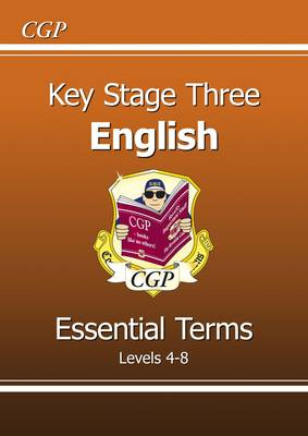 KS3 English Essential Terms - Levels 4-8