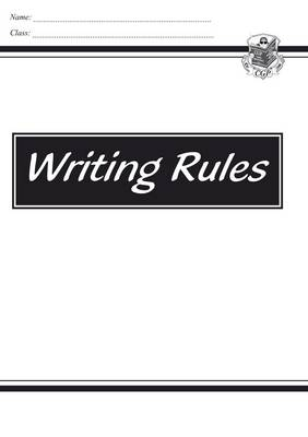 KS2 English Writing Rules