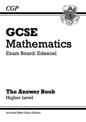 GCSE Maths Edexcel Answers for Workbook with Online Edition - Higher (A*-G Resits)