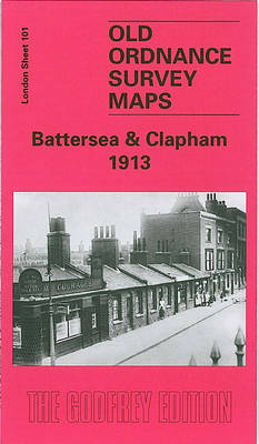 Battersea and Clapham 1913: London Sheet   101.3