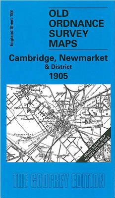 Cambridge, Newmarket and District 1905: One Inch Map 188