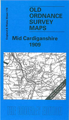 Mid Cardiganshire 1909: One Inch Sheet 178