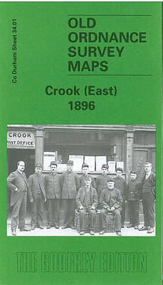 Crook (East) 1896: Durham Sheet 34.01