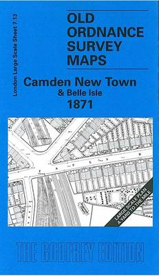Camden New Town and Belle Isle 1871: London Large Scale 07.13