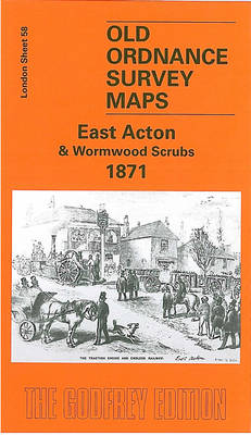 East Acton and Wormwood Scrubs 1871: London Sheet 058.1