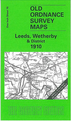 Leeds, Wetherby and District 1910: One Inch Sheet 070