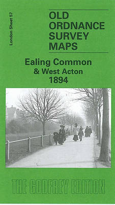 Ealing Common and West Acton 1894: London Sheet 057.2