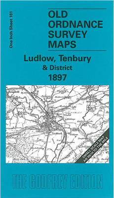 Ludlow, Tenbury and District 1897: One Inch Sheet 181
