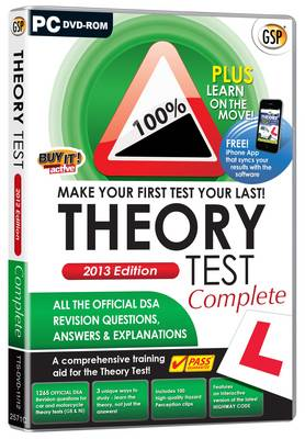 Theory Test Complete: 2013