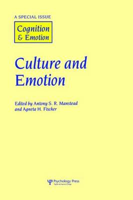 Culture and Emotion: A Special Issue of Cognition and Emotion