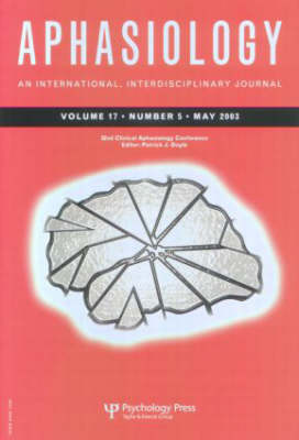 32nd Annual Clinical Aphasiology Conference: A Special Issue of Aphasiology