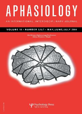 33rd Annual Clinical Aphasiology Conference: A Special Issue of Aphasiology