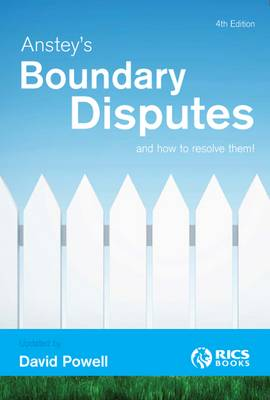 Anstey's Boundary Disputes and How to Resolve Them