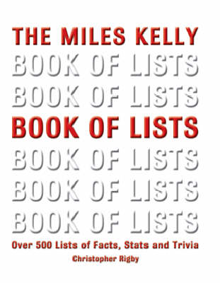Book of Lists: Over 500 Lists of Facts, Stats and Trivia