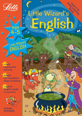 Little Wizard's English Age 4-5