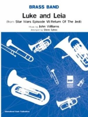 "Luke and Leia ""Return of the Jedi"": (Score and Parts)"