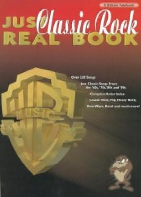 Just Classic Rock Real Book: (C Edition)