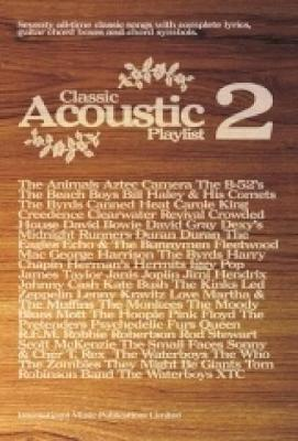 Classic Acoustic Playlist: (Chord Songbook): v. 2